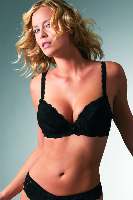 Change Plunge Underwired Bra with Removable Cookies 37104301