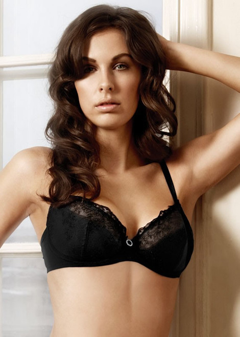 Change Underwire Lace Bra with Diamante 10322040912
