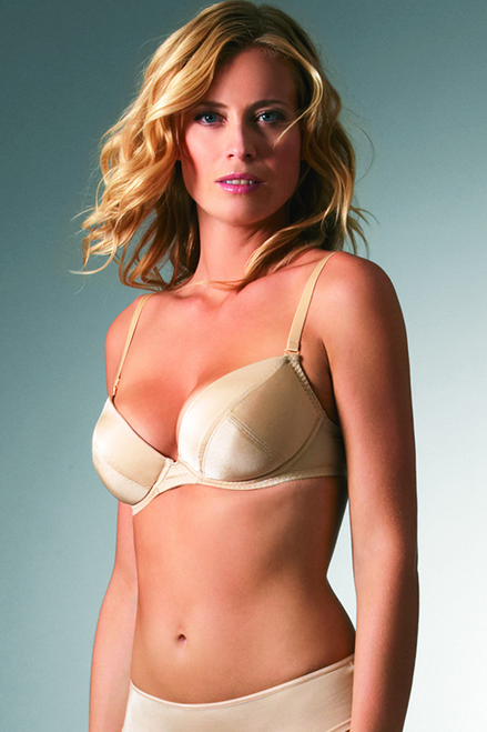 Change Plunge Underwired Bra with Removable Cookies 22504197