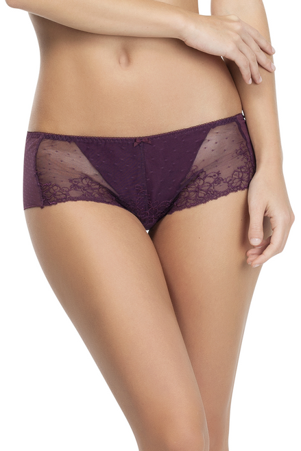 Parfait Soft Lace and Microfiber Shorty Hipster Molly A1145