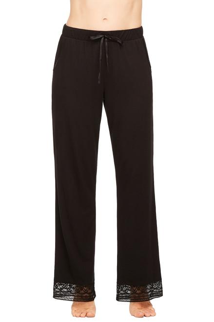 Fleur't Cityscape Modern Pant with Lace Hem 5779