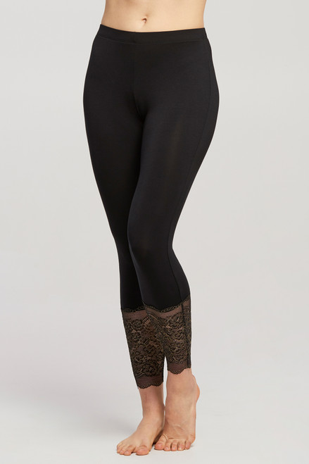 Montelle Modal Legging with Lace 6207