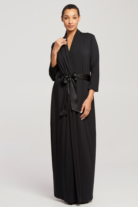 Fleur't Iconic Long Robe with Silk Ties 621