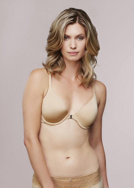 CLEARANCE: Montelle 9032 Front Opening Pure Racer Underwire Bra