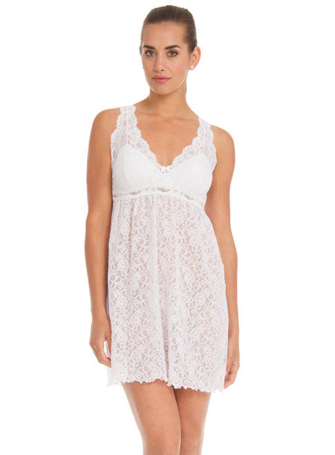 Arianne Natasha Lacy Chemise with Removable Pads 8240
