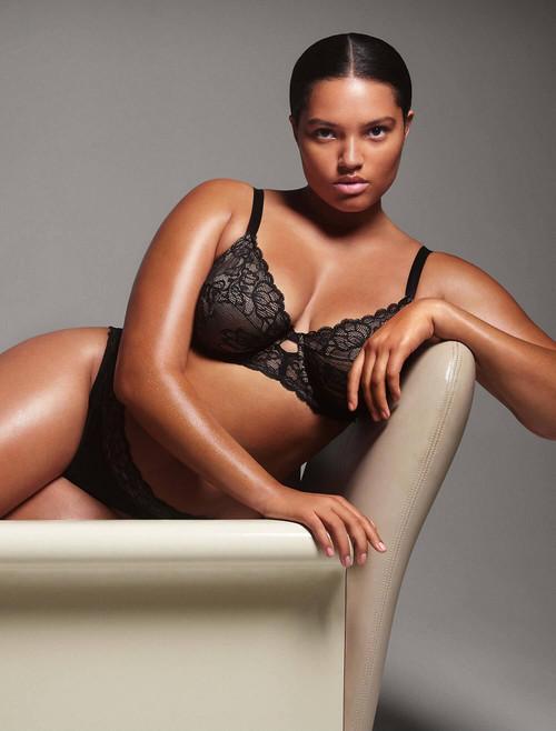 Calvin Klein Seductive Comfort Lace Unlined Bra QF1741