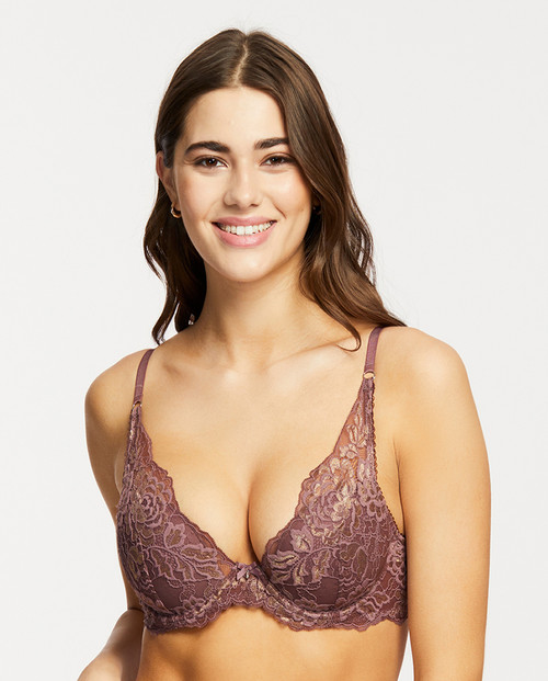 Montelle Sugar 'N Spice Fashion Mystique Underwire Bra 9441