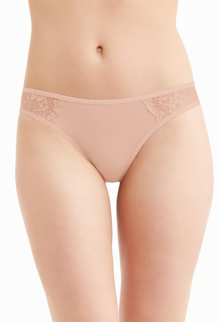 Montelle Lace and Microfiber thong 9388