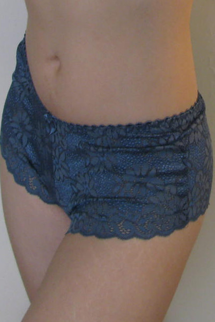 Bra Doctor Persian Blue European Lace Hipster 15902