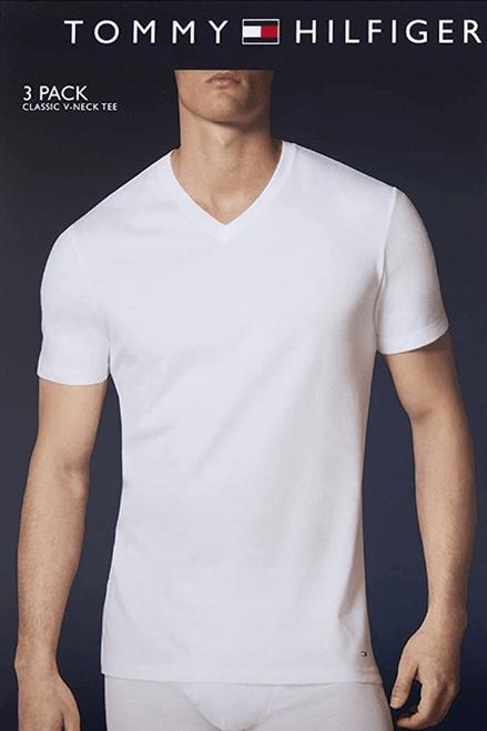 Tommy Hilfiger 100% Cotton V-Neck Shirt HCTVN01