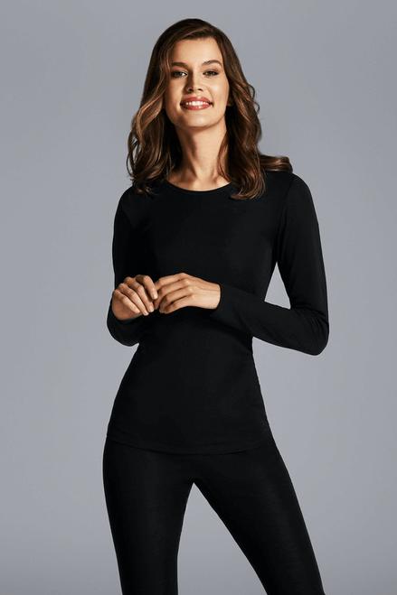 Cybele Wool & Silk Long Sleeve Shirt 7-100271