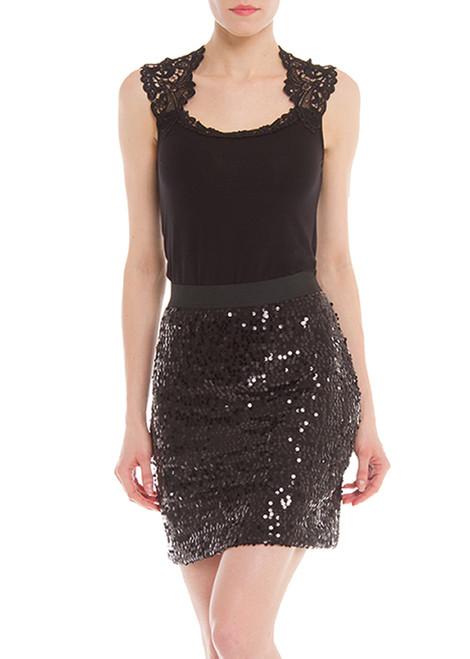 Arianne Vegas Sequined Skirt  4603
