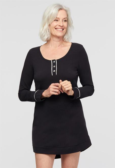 Lusomé  Cotton Long Sleeve Haedy Sleepshirt EF17-122