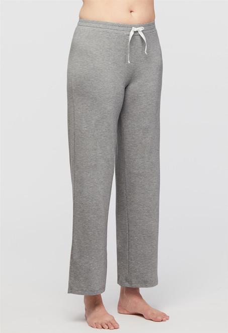 Lusomé  Cotton  Pant with Elastic Waist  Donna LS13-121P
