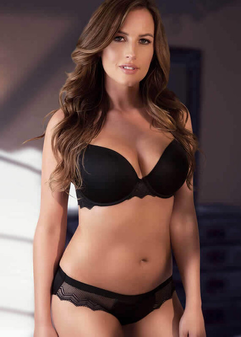 Parfait Underwire Contour Padded Bra with Lace Lydie P5441