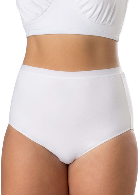 6144 Elita Plus Microfiber Full Brief