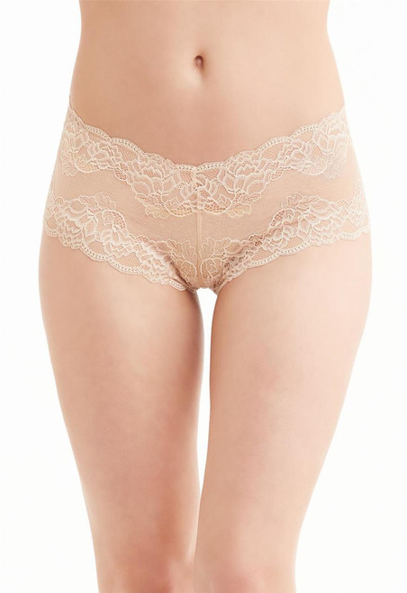 9000 Montelle Allover Lace Cheeky Boyshort Panty