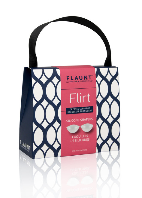Flirt Push-Up Silicone Bra Pads by Fashion Essentials BF39010