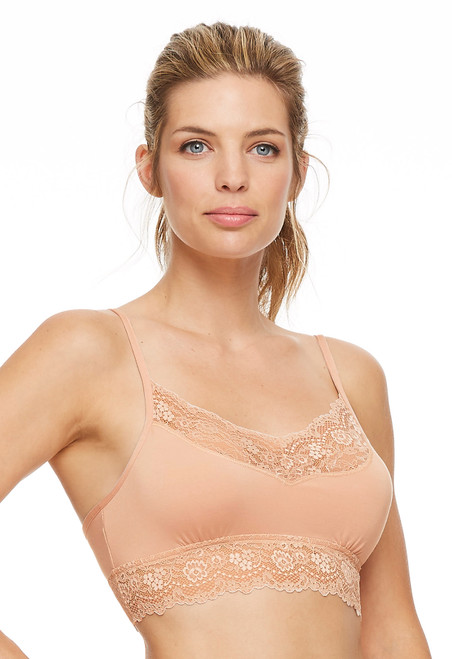 Montelle Bodybliss Breeze Wireless Lace & Micromodal Bralette 9405