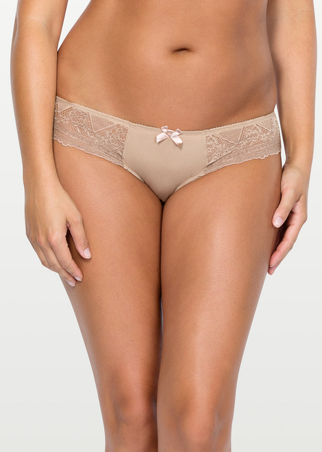 Parfait Casey Lace & Microfiber Low Rise Brief 2803