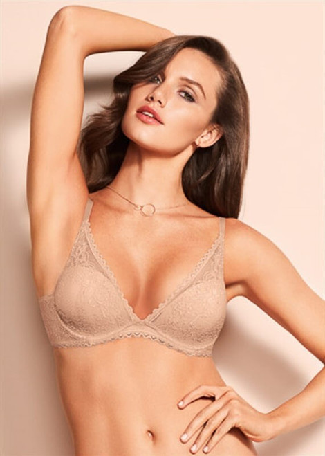 90014 Darling Lace Petites Underwire Bra By Triumph