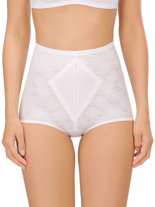 Panty Girdle With Reinforced Front Panel High Rise Firm Control (L-5XL) by Naturana 0184