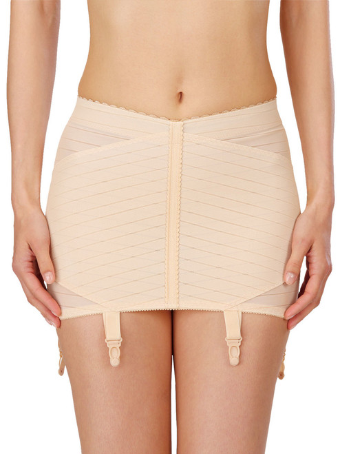 Firm Control Suspender Girdle With Integrated Waistband Naturana 2023