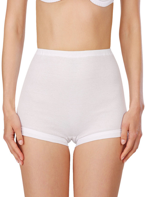 100% Cotton High Waisted Panty (M-6XL) By Naturana 2201
