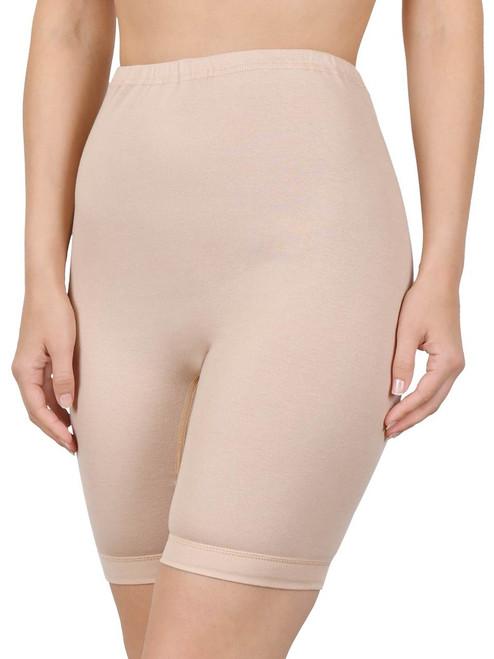 100% Cotton High Waisted Long Leg Panty (M-6XL) By Naturana 2204