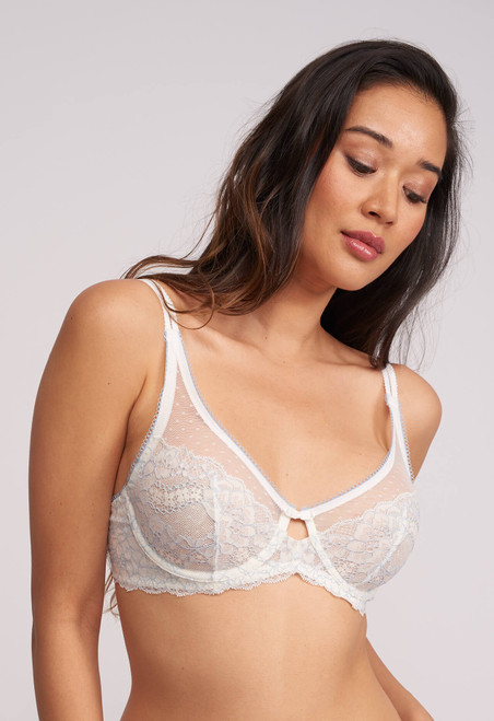 Montelle Sweet Encounter Full Figure Lace Underwire Bra 9081