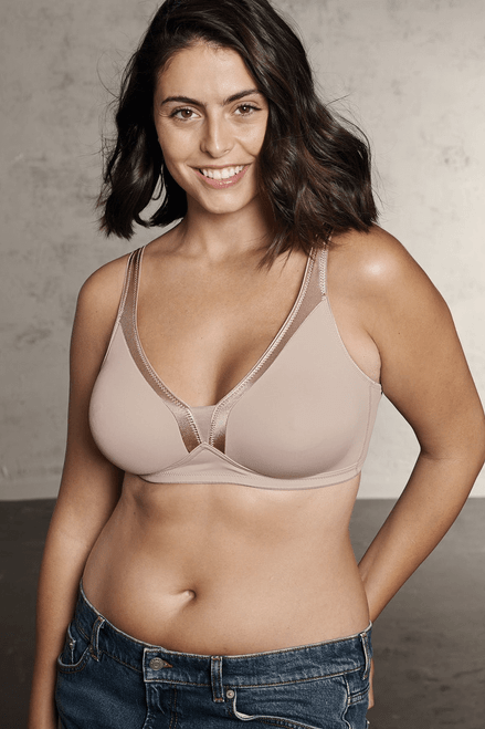 Wireless Moulded Soft Bra By Naturana 5227