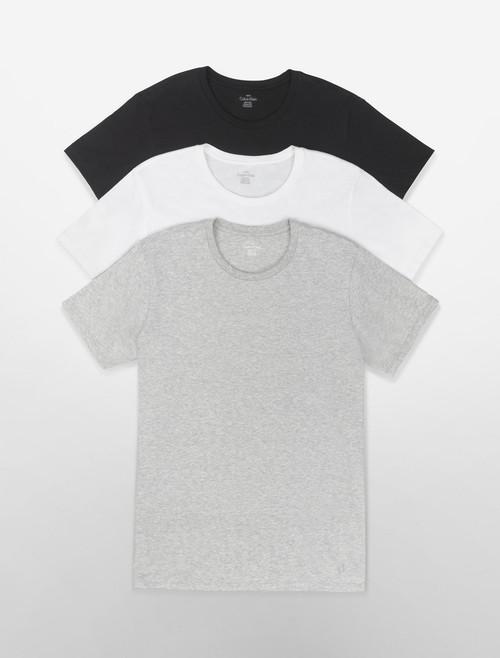 Calvin Klein Cotton Fit Classic Short Sleeve Crew T-Shirts - 3 Pack U4001