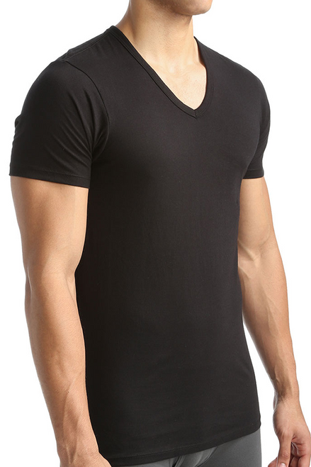 Calvin Klein Cotton Classic Slim Fit V-Neck T-Shirt - 3 Pack NB1177