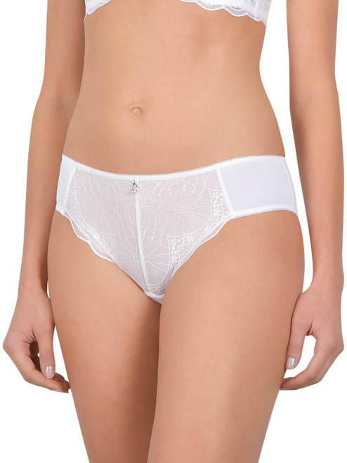 Microfibre Lace Brief By Cybele (xs-3xl) 11404