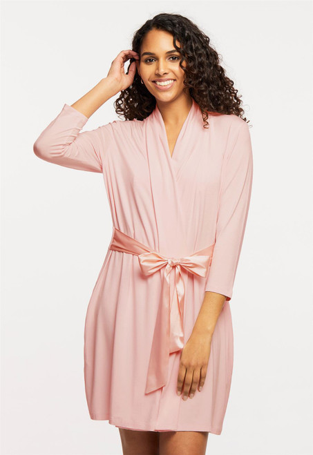 Fleur't Iconic Robe with Silk Ties 620-916