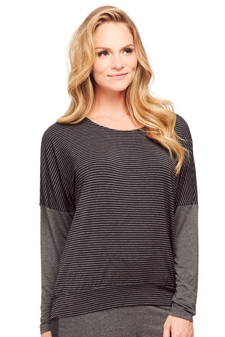 Fleur't Casual Perfection Long Sleeve Dolman Top 5365
