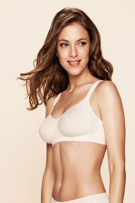 Murcia Wireless Push Up Double Molded Soft Bra By Naturana Blue Label 5623