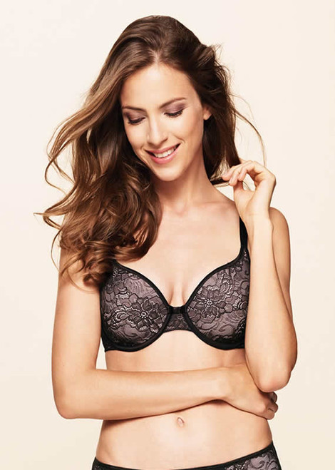 Naturana Blue Label Salamanca Lace Underwired Spacer Bra 7655