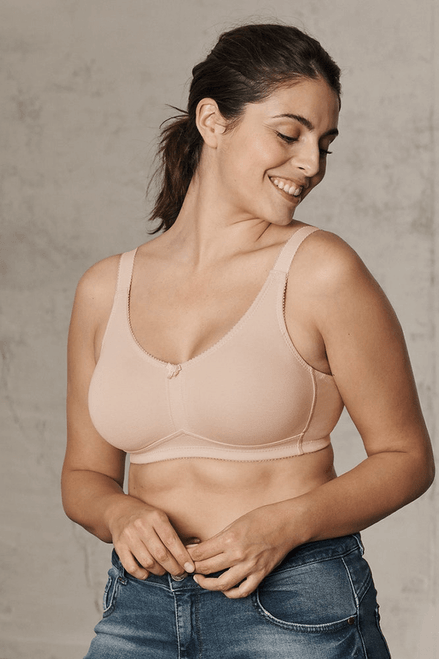 Naturana Wireless Post Surgery Moulded Cotton Mastectomy Bra 5801