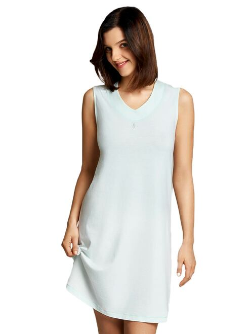 Cybele 100 Per Cent Cotton Jersey Sleeveless Sleepshirt 7-800379