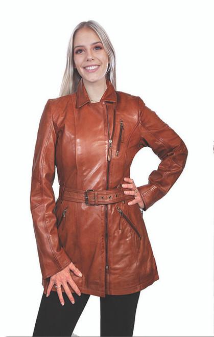 Women's Scully L330 Lamb Coat