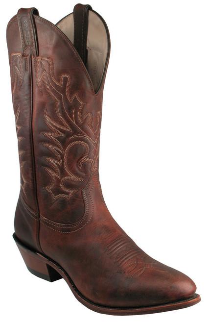 Men's Boulet 2268 with Rubber Sole, Medium Cowboy Toe and Cowboy Heel
