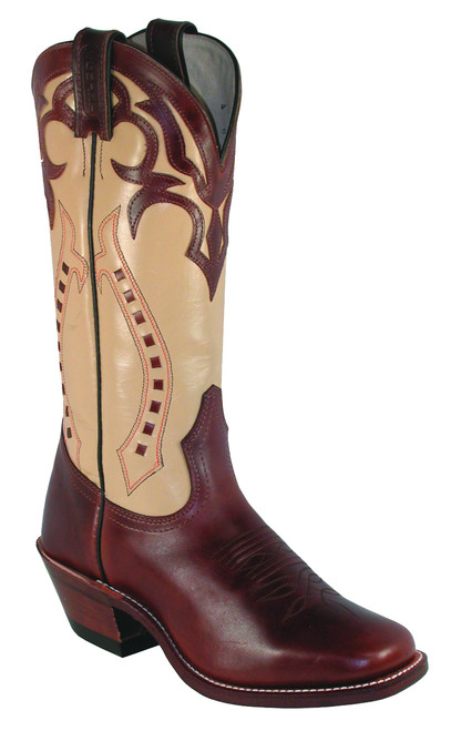 Women's Boulet 4123 with Vintage Square Toe and Horseman Heel