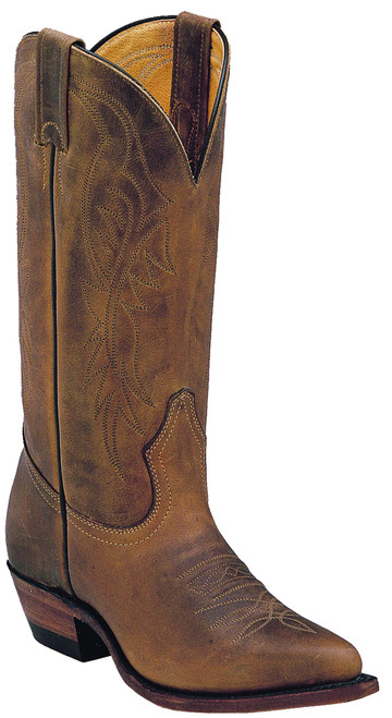 Women's Boulet 8838 Brown with Cowboy Toe and Cowboy Heel
