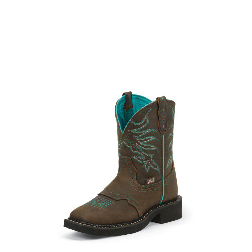 Women's Justin L9624 Chocolate Gypsy with Square Toe