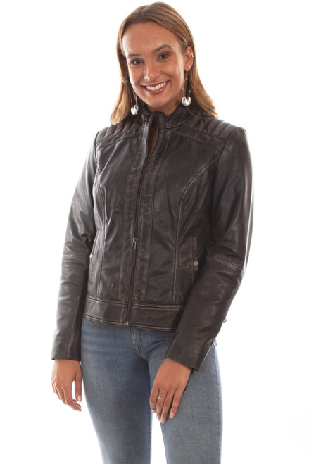 Women's Scully L1040 Leather Jacket