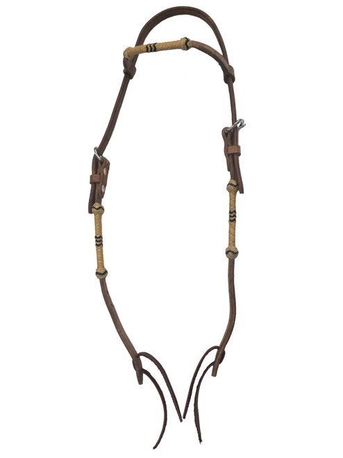 Rawhide Manufacturing HL12-R Headstall with Rawhide
