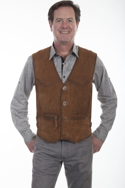 Men's Scully 900 Buffed Lamb Vest