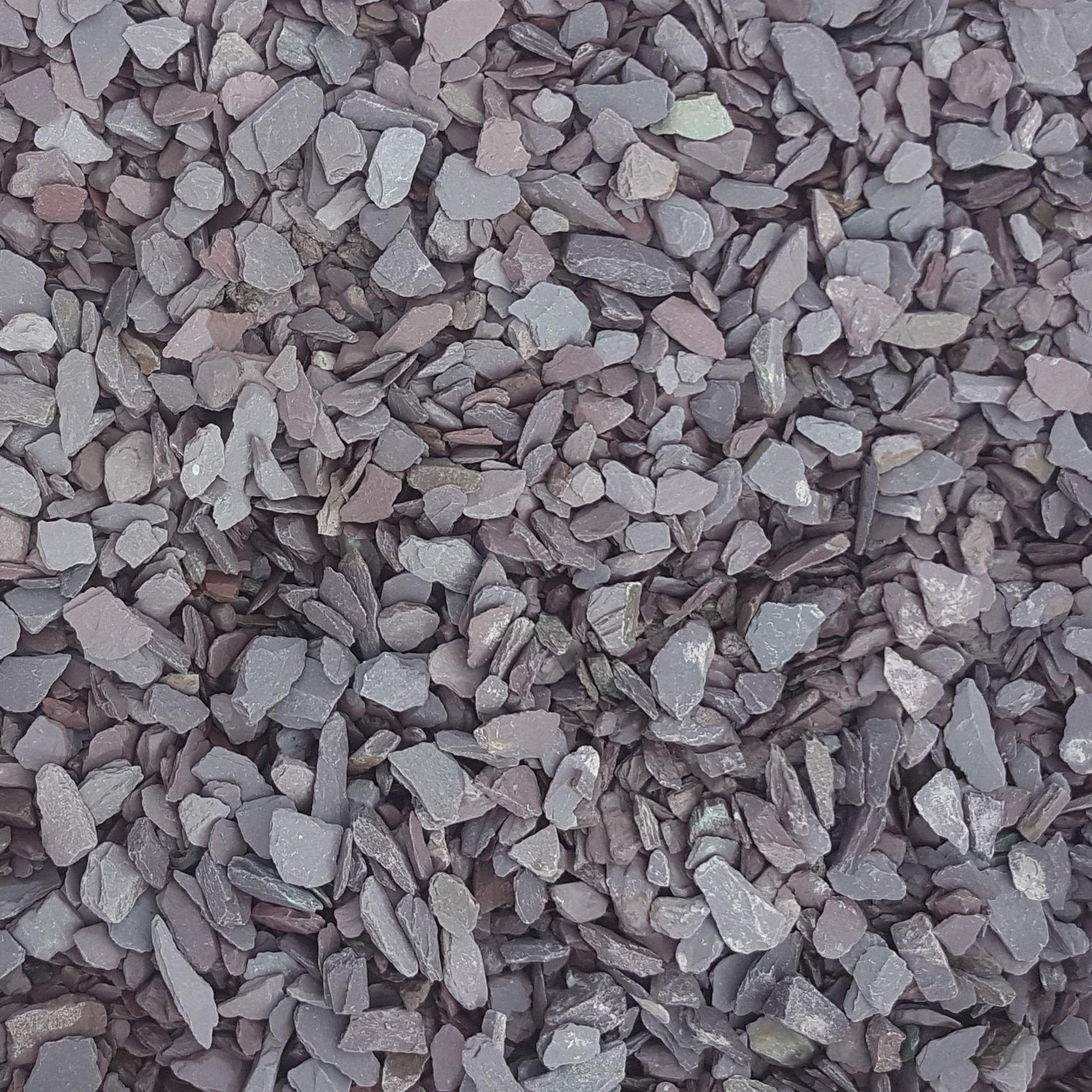 plum slate 20mm dry mitchell turf