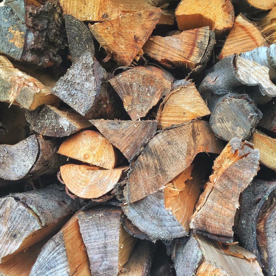 Stock of Hardwood Fire Wood.